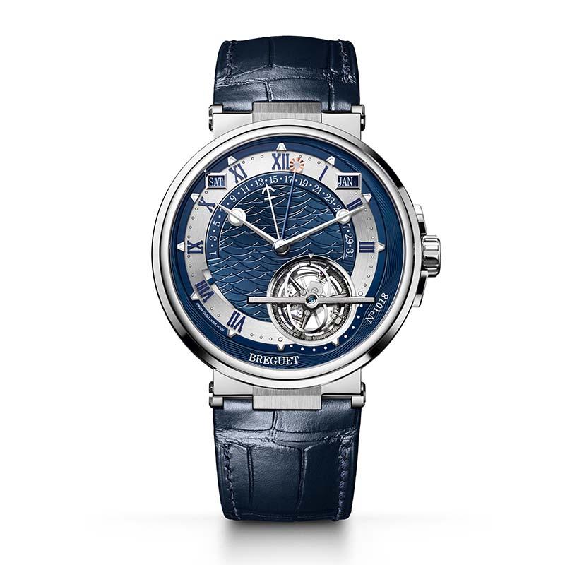 ブレゲのマリーンの時計
