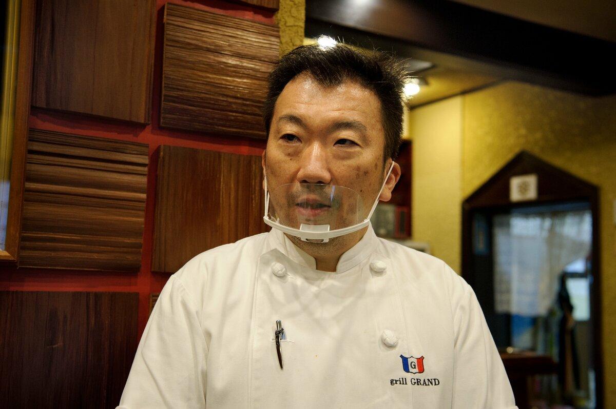 三代目店主・坂本良太郎さん
